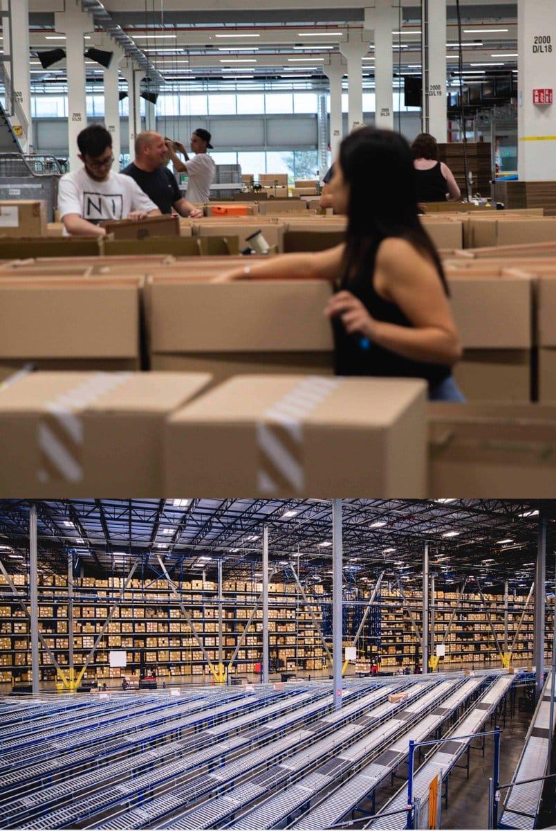 warehouse converse